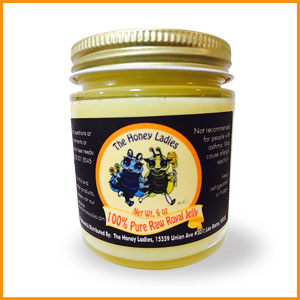 jar of royal jelly
