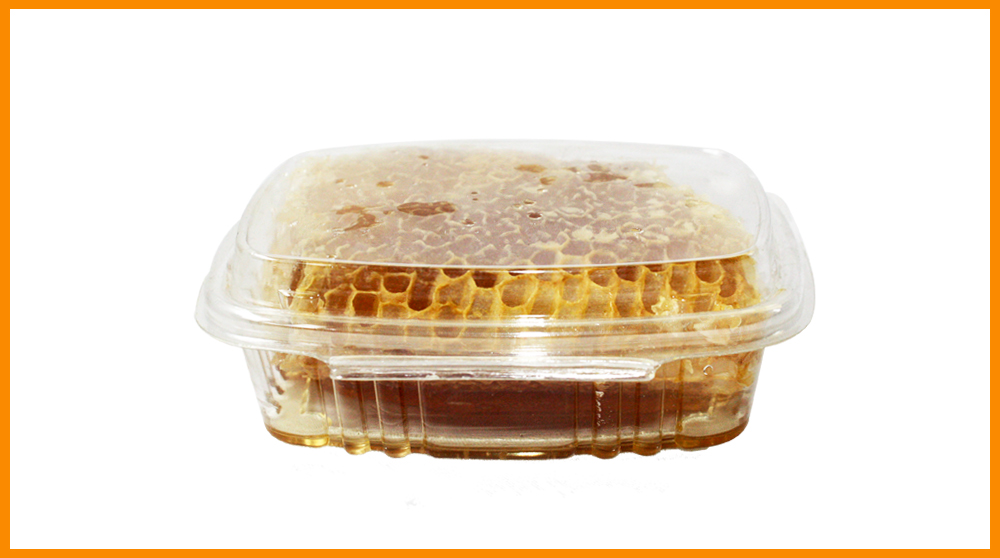honeycomb in container